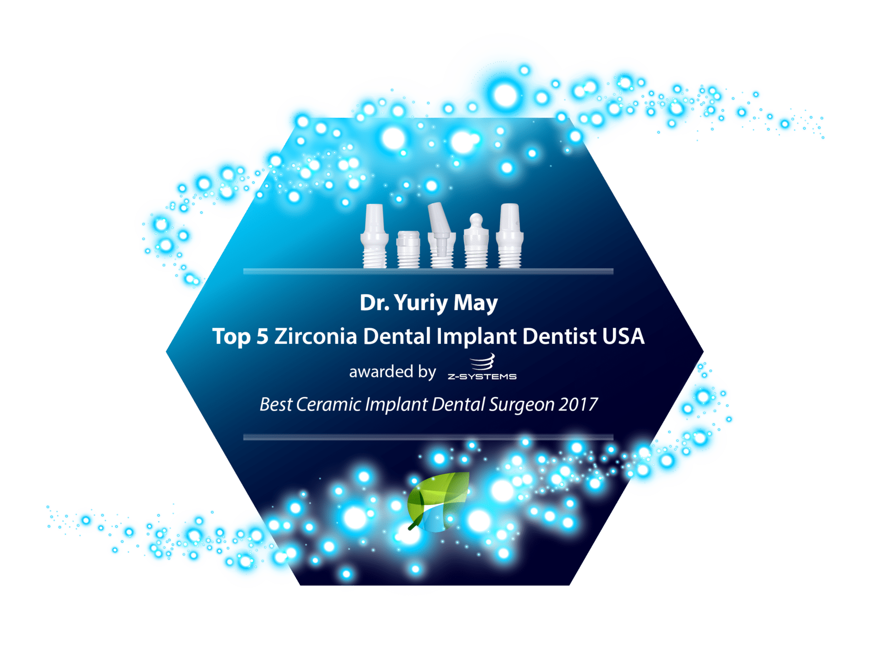 Zirconia Implant Dentist Dr. Yuriy May CT Natural Dentistry Best Ceramic Dental Implants Dentist Connecticut USA