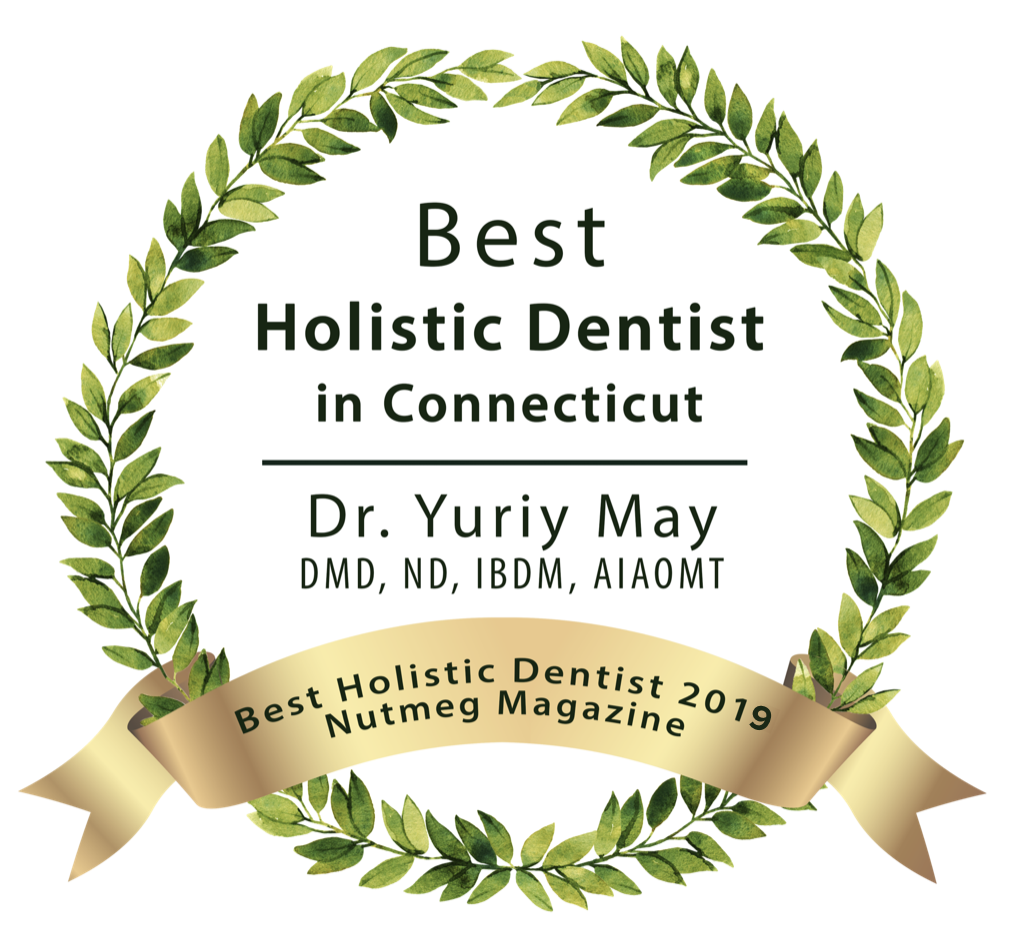 Best Holistic Dentist Connecticut, Best Biological Dentist Connecticut, Best Dentist Connecticut, Natural Nutmeg Awards, Best of CT Dentist, Dr. Yuriy May
