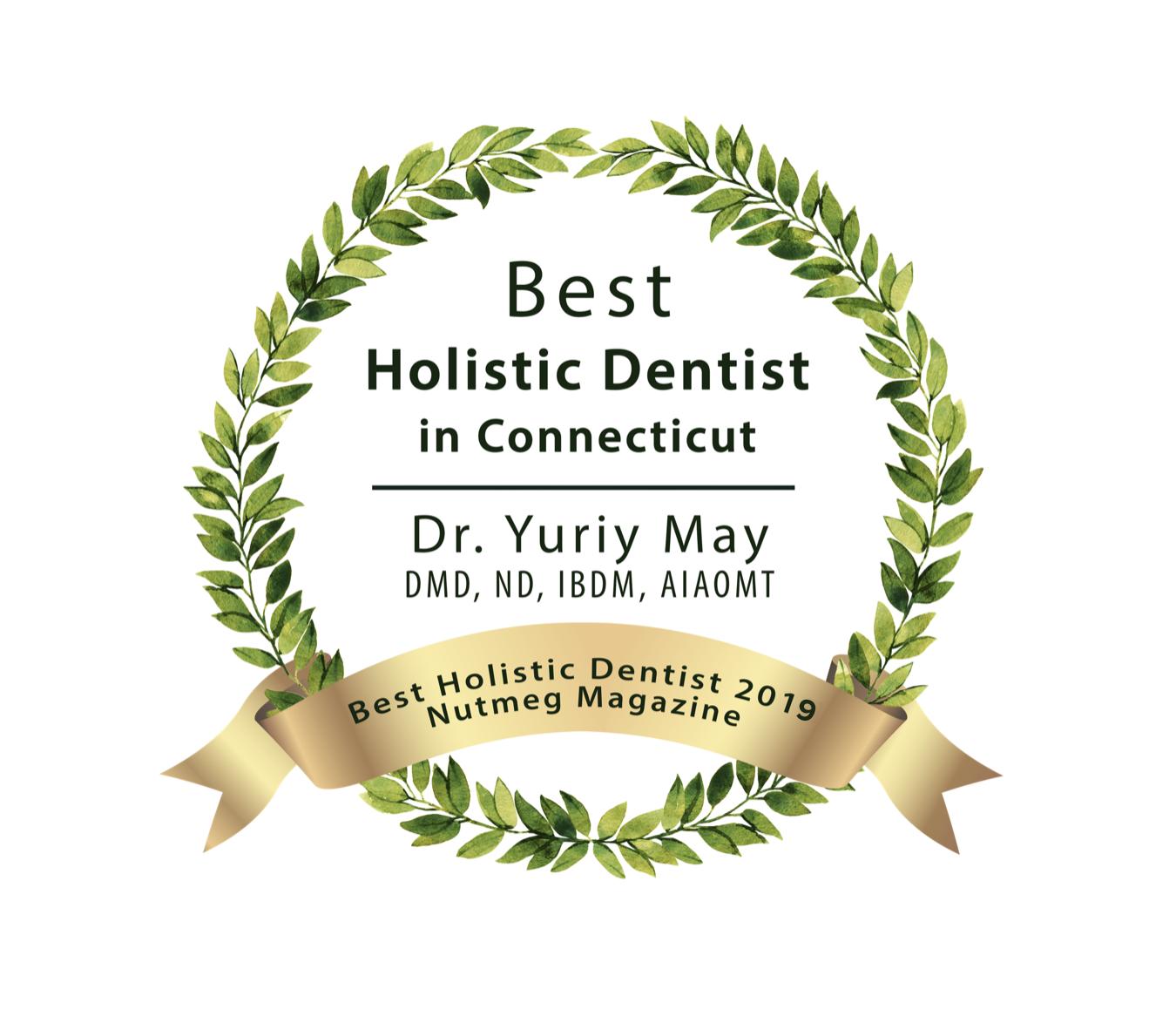 Best Holistic Dentist CT Best Biological Dentist CT Natural Nutmeg Award 2019.png