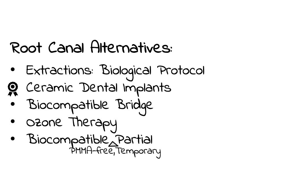 Root Canal Alternatives Ceramic Implants Extractions Biological Protocol