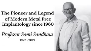 History of Zirconia Ceramic Dental Implants Dr. Sami Sandhous Metal-Free Implants History of Ceramic Implants Dr. Yuriy May